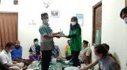 Pembagian Masker Di Dusun Sindet KKN UMBY