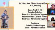 Edukasi Tinjauan Psikologis SD